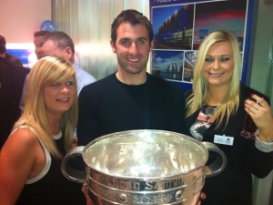 OCSC with Sam Maguire